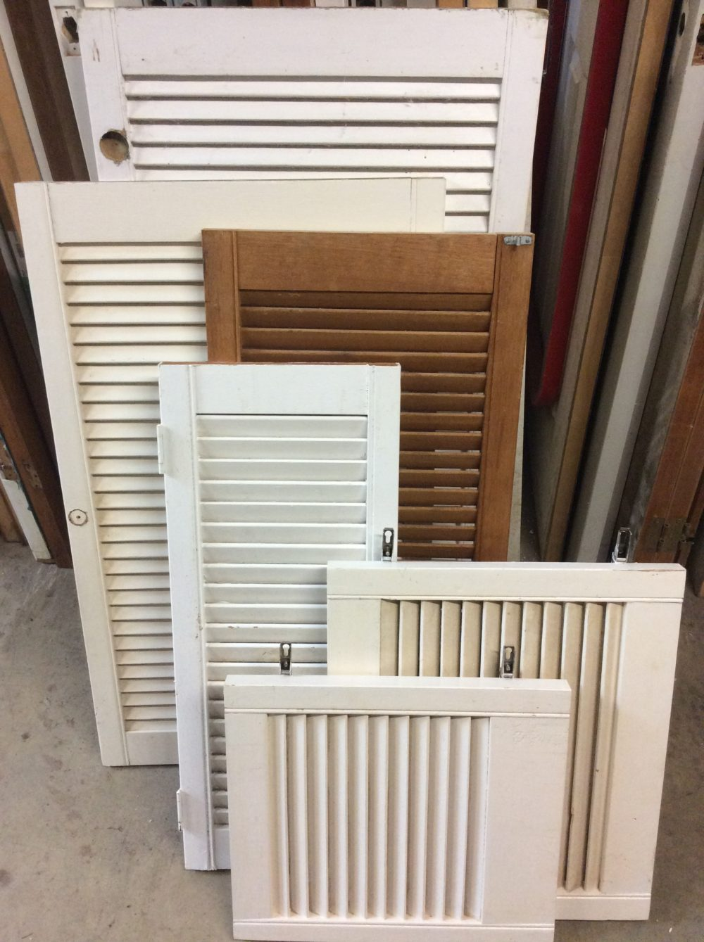 Louvered Cabinet Doors A J Magnay